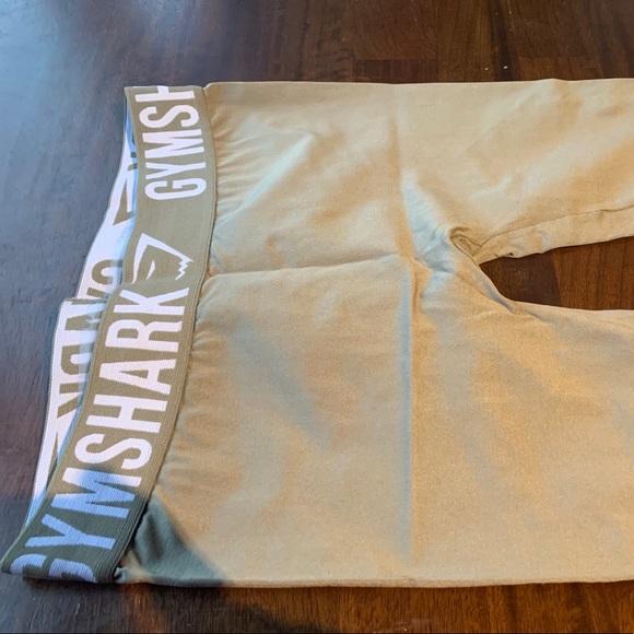 Gymshark seamless leggings, sage green, size small